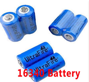 16340 充電電池 Li-ion rechargeable battery