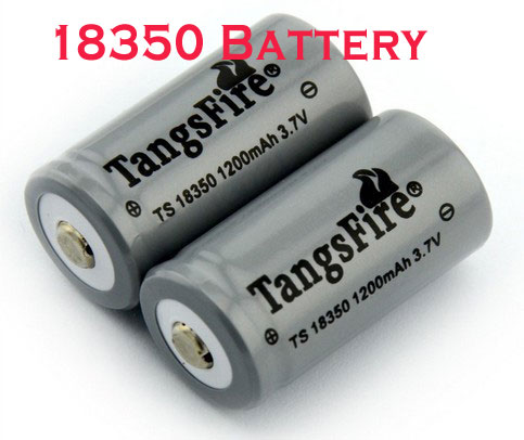 18350 充電電池 Li-ion rechargeable battery